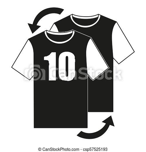 Schwarze Und Weisse Fussballspieler Ersetzen Icon Line Art