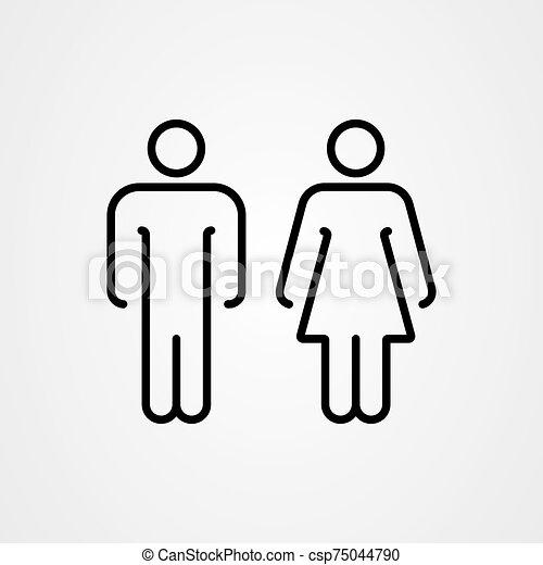U zeichen mann frau Gendersymbole