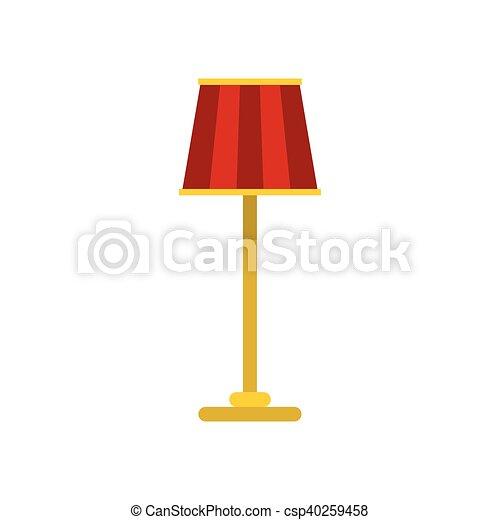 Ikone, wohnung, lampe, stil, boden. Wohnung, stil, boden, symbol ...