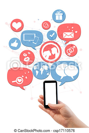 ikonen, mall, smartphone, isolerat, plats, datering, direkt, vit - csp17110576