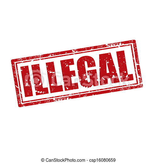 Illegal-stamp - csp16080659