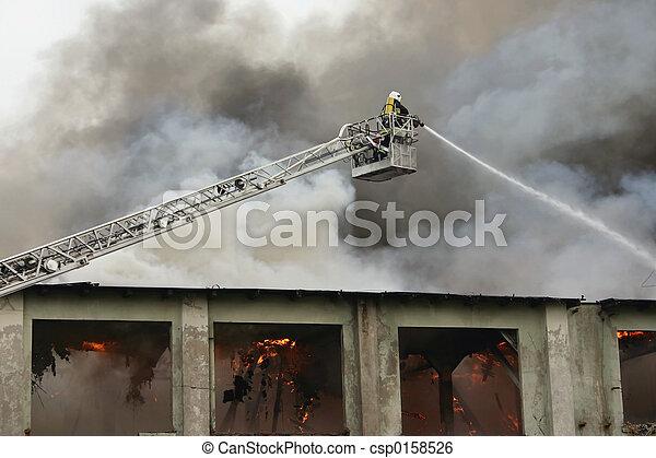 illeték, tűzoltó - csp0158526