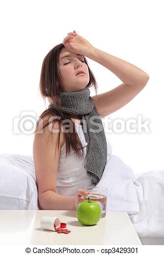 Illness - csp3429301