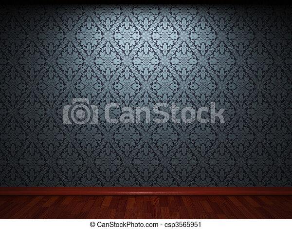 illuminated fabric wallpaper  - csp3565951