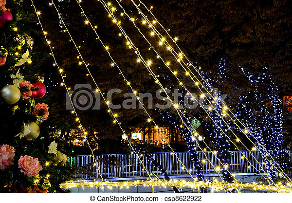 illuminations., noël - csp8622922