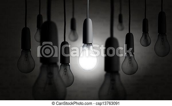illuminazione, lampadina - csp13763091