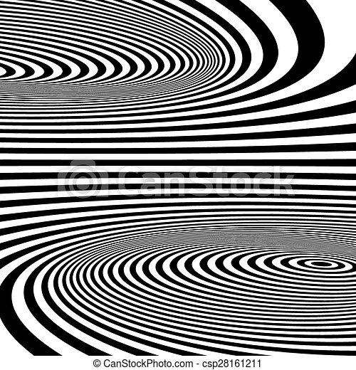 illusion., model, optisch, abstract, achtergrond., kolken - csp28161211