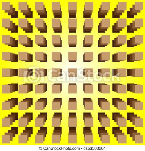 illusione ottica - csp3503264