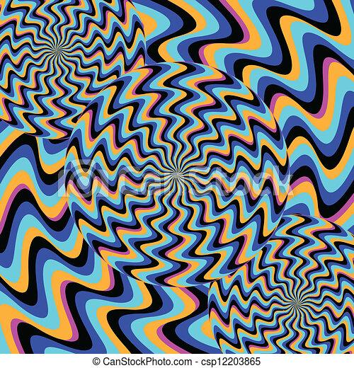 (illusory, motion), psychose - csp12203865