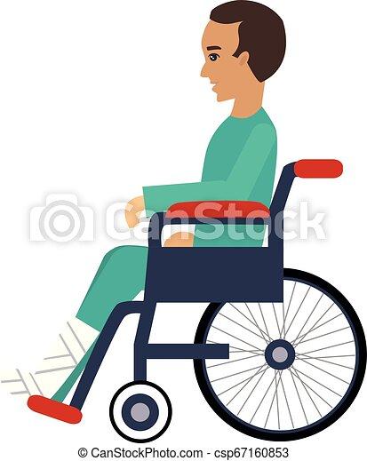 Ilustración de vector de discapacidad - csp67160853