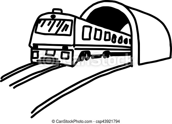 illustation vector hand drawn doodle of subway isolated on eps rh canstockphoto com subway clipart free subway clipart free