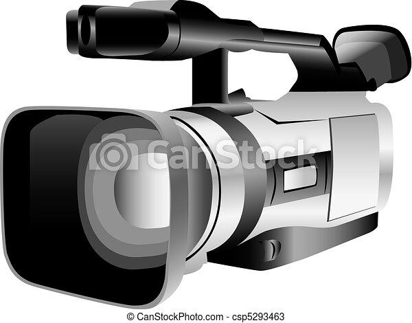 Illustrated video camera - csp5293463