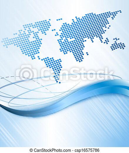 illustration., επιχείρηση , αφαιρώ , map., μικροβιοφορέας , φόντο , κόσμοs  - csp16575786