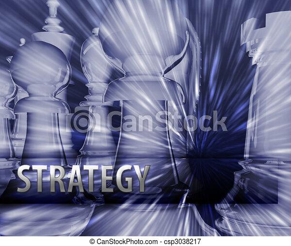 illustration affaires, stratégie - csp3038217