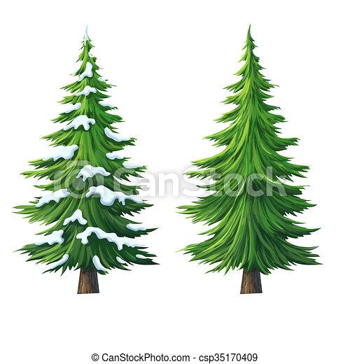 illustration dessin anim pin blanc arbre isol fond. Black Bedroom Furniture Sets. Home Design Ideas