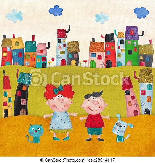 Illustration for children - csp28314117