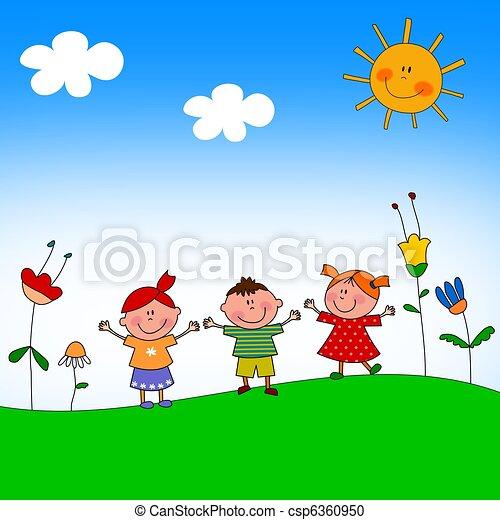 Illustration for children - csp6360950