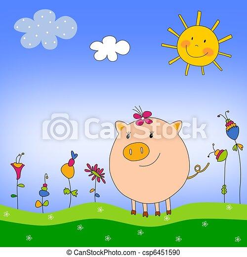 Illustration for children - csp6451590