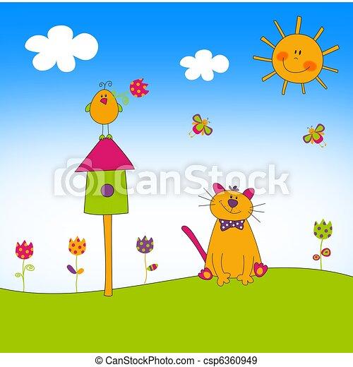 Illustration for children - csp6360949