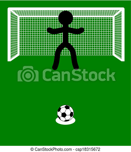 illustration of a penalty - csp18315672