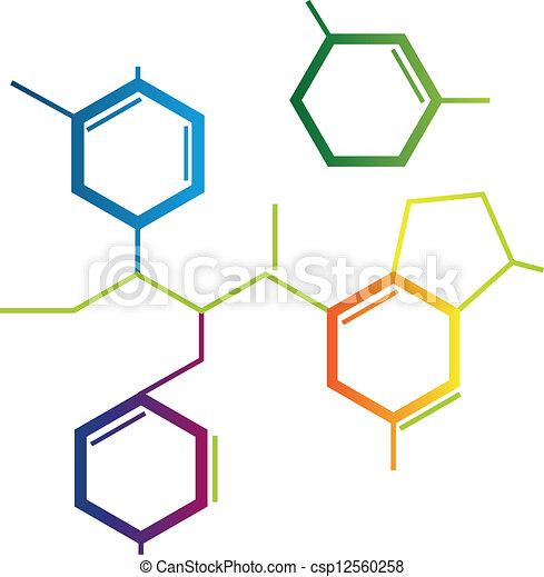 Illustration of abstract chemical formula clipart vector search illustration of abstract chemical formula altavistaventures Images