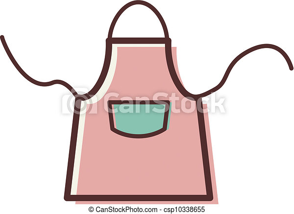 illustration of an apron stock illustrations search clipart rh canstockphoto com
