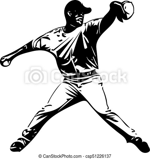 illustration of baseball player playing with abstract background rh canstockphoto ca baseball player vector free baseball player vector free download