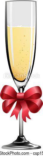 Illustration of champagne - csp1566300