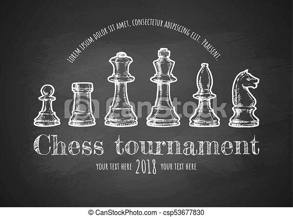 illustration of Chess - csp53677830