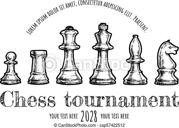 illustration of Chess - csp57422512