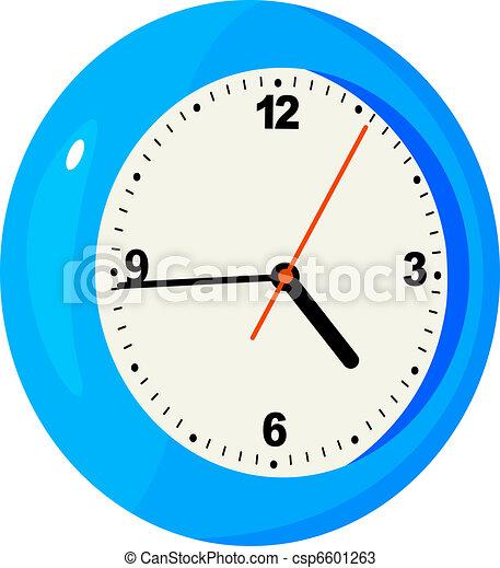 Illustration of clock - csp6601263