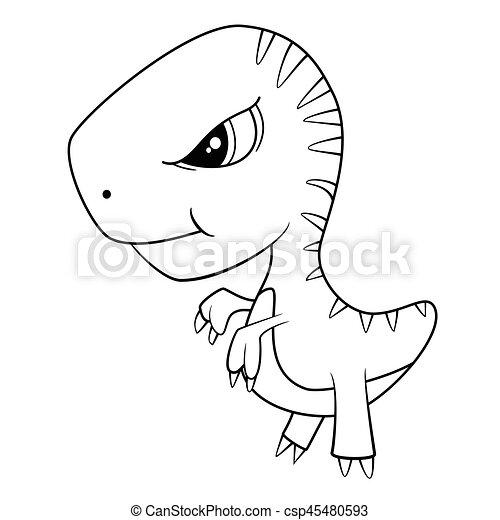 tegning dinosaur