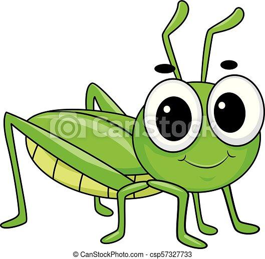 Cute Grasshopper Drawing
