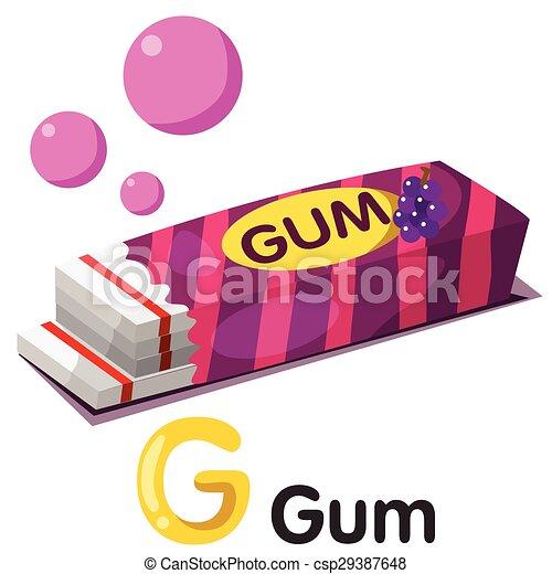 illustration of g font with gum eps vector search clip art rh canstockphoto ca guam clip art gym clip art images