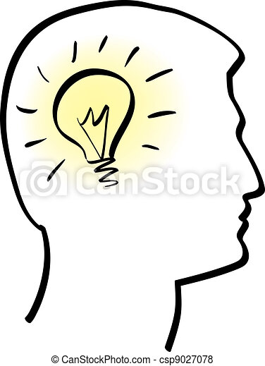 Idea Bulb Clip Art Vector And Illustration 53552 Clipart EPS Images Available To Search From Thousands Of Royalty Free Stock