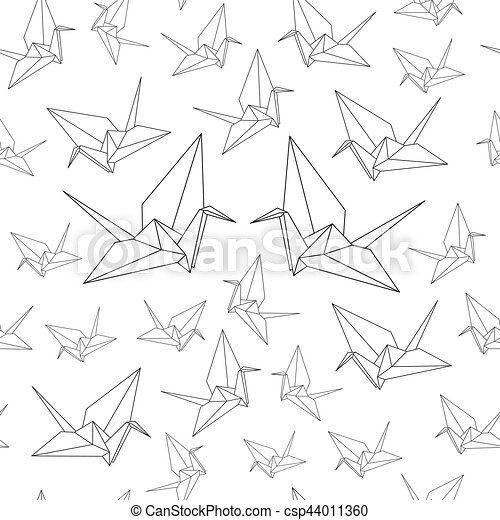 Illustration Of Origami Crane