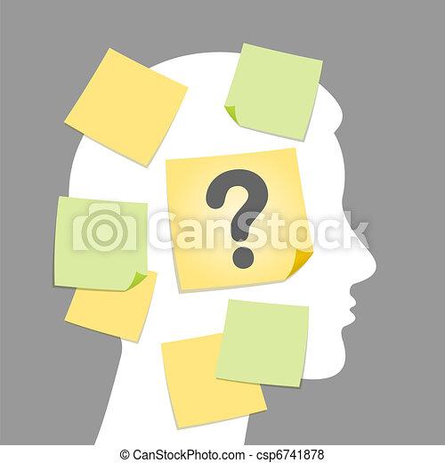 Illustration of question - csp6741878