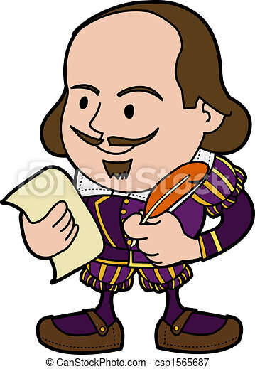 illustration of shakespeare illustration of william vectors rh canstockphoto com shakespeare quotes clipart shakespeare animated clipart