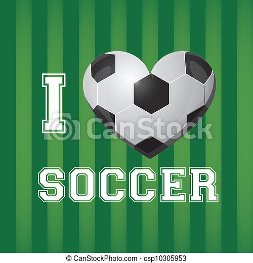 illustration of soccer ball  - csp10305953