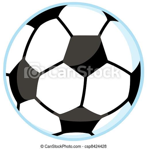 Illustration Of Soccer Ball - csp8424428