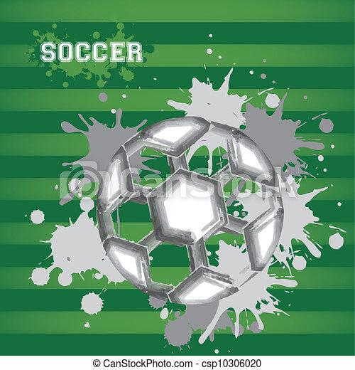 illustration of soccer ball - csp10306020