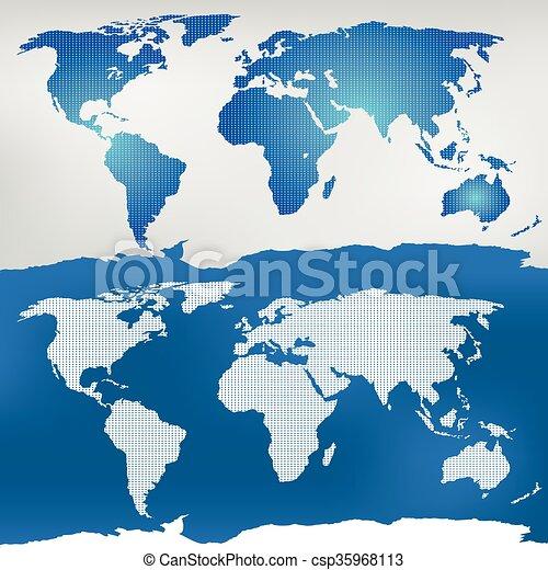 Illustration of the world map mercator projection vector clip art illustration of the world map gumiabroncs Choice Image