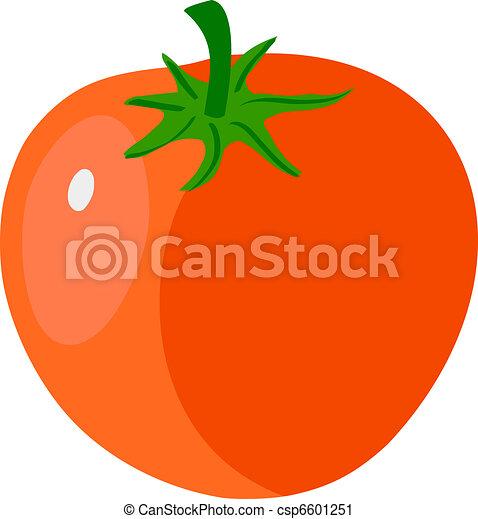 illustration of tomato vector clip art search illustration rh canstockphoto com tomato clipart outline tomato clip art free download