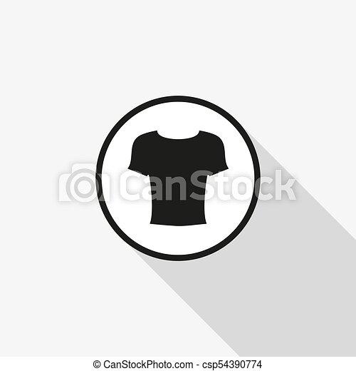 Illustration of wear thin line icon design - csp54390774