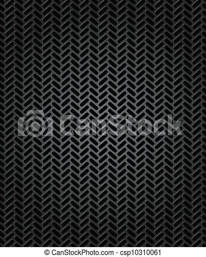 illustration, vecteur, seamless, trace, tyre. - csp10310061