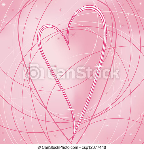 illustration with the Valentine de - csp12077448