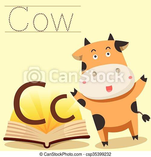 illustrator of c for cow vocabulary vectors search clip art rh canstockphoto com illustrator clip art download illustrator clipart