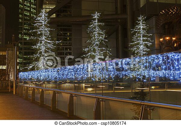 Iluminación navideña - csp10805174