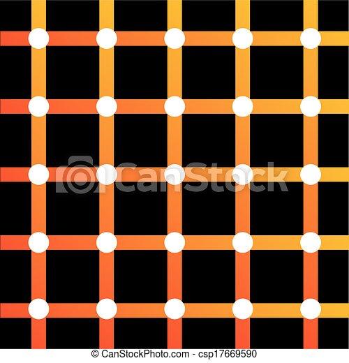 ilusão óptica, coloridos - csp17669590
