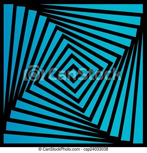 ilusão óptica, coloridos - csp24033038
